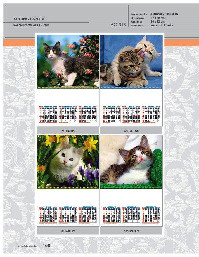 Kalender 2015 AO - Triwulan 3 Bulanan - Free Download Jpg Thumbnails Quality Preview - Tema Foto Gambar Kucing Eksotis