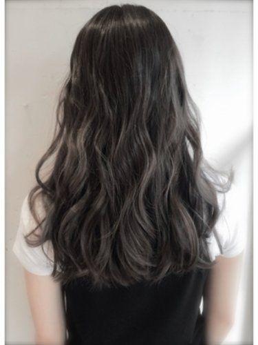 黒髪グラデーションカラーは毛先・アッシュが決め手【ミディアム・ボブ・ロング】に投稿された画像No.69