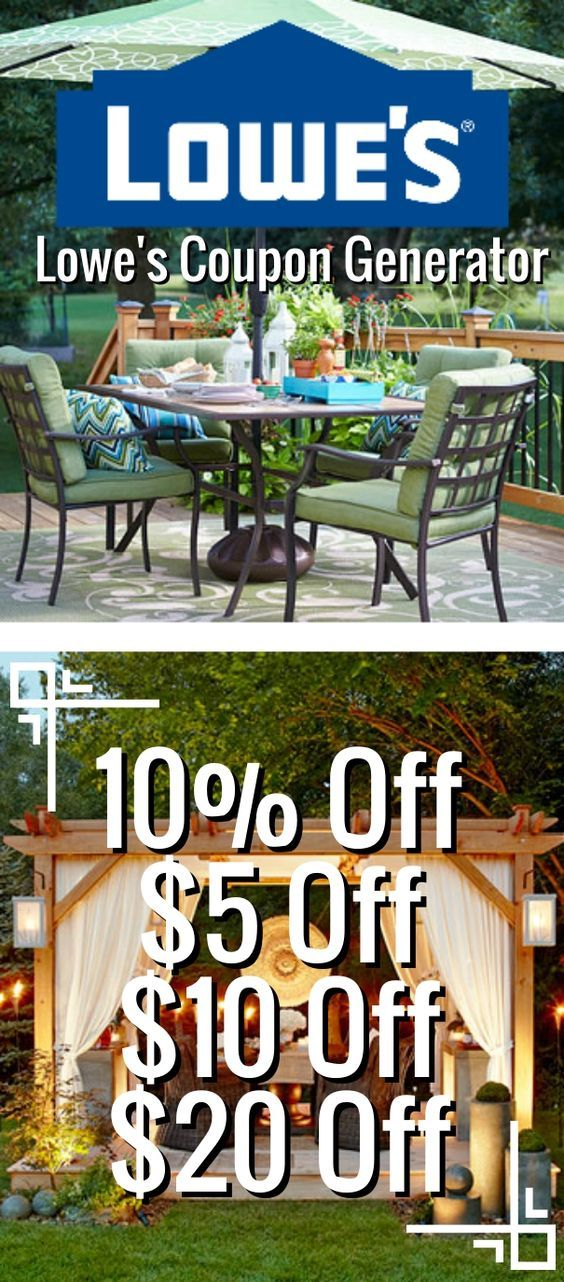 Lowe's Coupon Generator (Valid In Stores & Online): 10% Off Lowe's Coupon, $5 Off Lowe's Coupon, $10 Off Lowe's Coupon, $20 Off Lowe's Coupon: https://www.dealsplus.com/lowes-coupons?code=3771078 #Lowes #Coupon #Printable #InStore #Codes