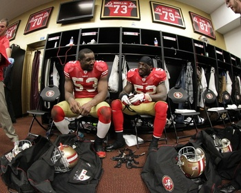 NaVorro Bowman, Patrick Willis Picture at San Francisco 49ers Photo Store
