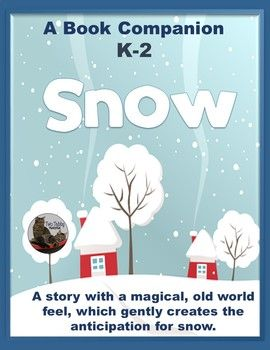 Snow is a book by Uri Shulevitz. This story creates a magical, old world feel with both its images and its text. As the story unfolds, it gently builds the wonderful, child-like anticipation for snow. The story is also a great jumping off point for discussion and comparisons between the past and present, in terms of clothing, technology, etc.