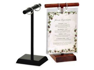 Best Menu Holders Ideas On Pinterest Small Store Design - Acrylic menu table tent holders