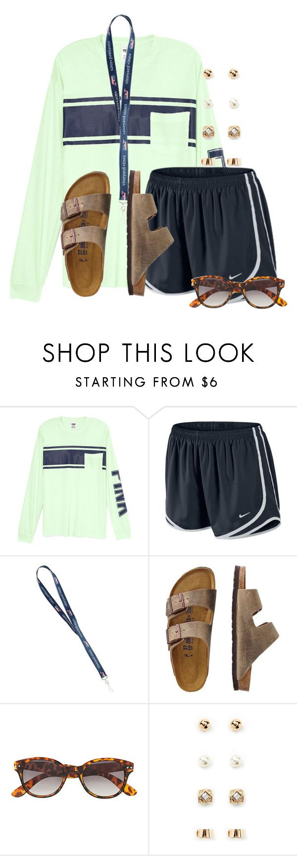 """""""Eating waffles❤️"""" by flroasburn ❤ liked on Polyvore featuring NIKE, TravelSmith, H&M and Forever 21"""
