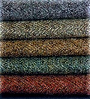 Tweed, love it in the wardrobe.. love it on an upholstered chair..even a sofa!
