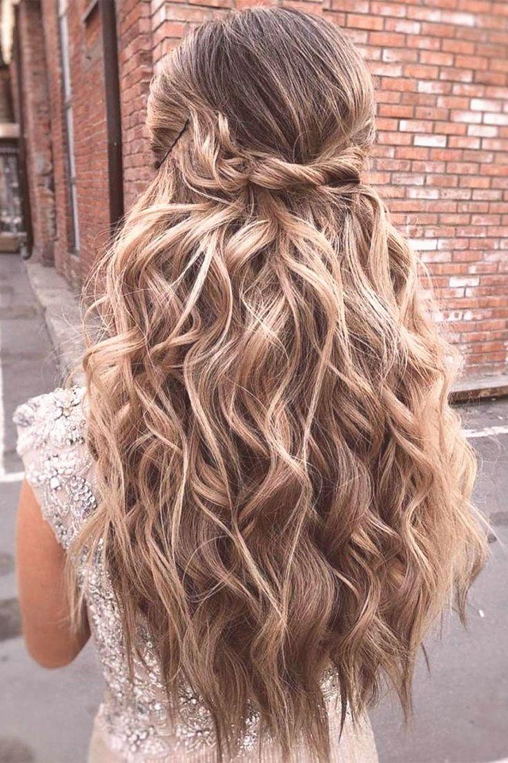 39 Gorgeous Half Up Half Down Hairstyles braid half up half down hairstyles partial updo hairst ...