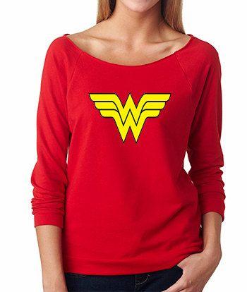 Wonder Woman French Terry Sweatshirt
