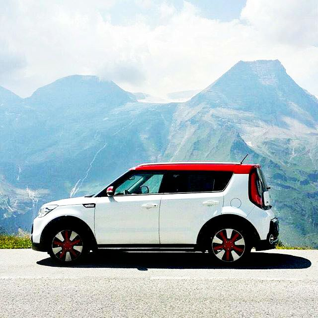 #GetAway to the top of mountains and free your soul! #KiaSoul #Kia