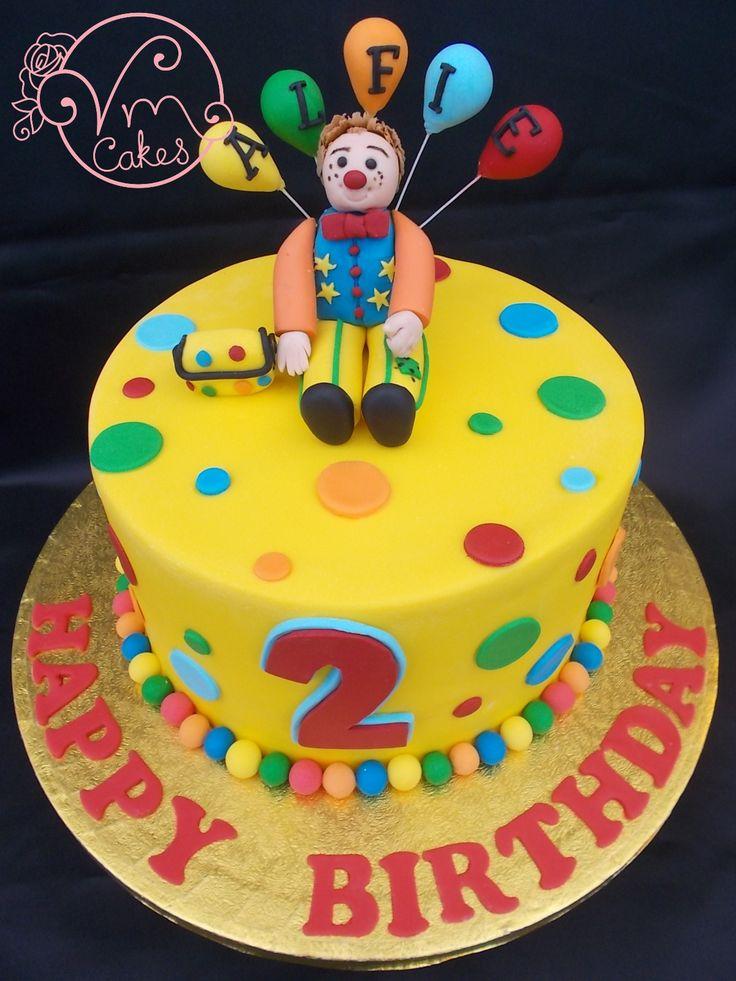 'Mr Tumble' Inspired Birthday cake