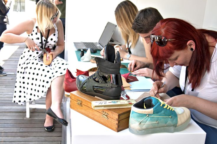 Visitors to the GREAT Festival of Creativity in Istanbul – who included the British Ambassador – were able to see the creative process for themselves as four DMU footwear design students created shoes in front of their eyes.
