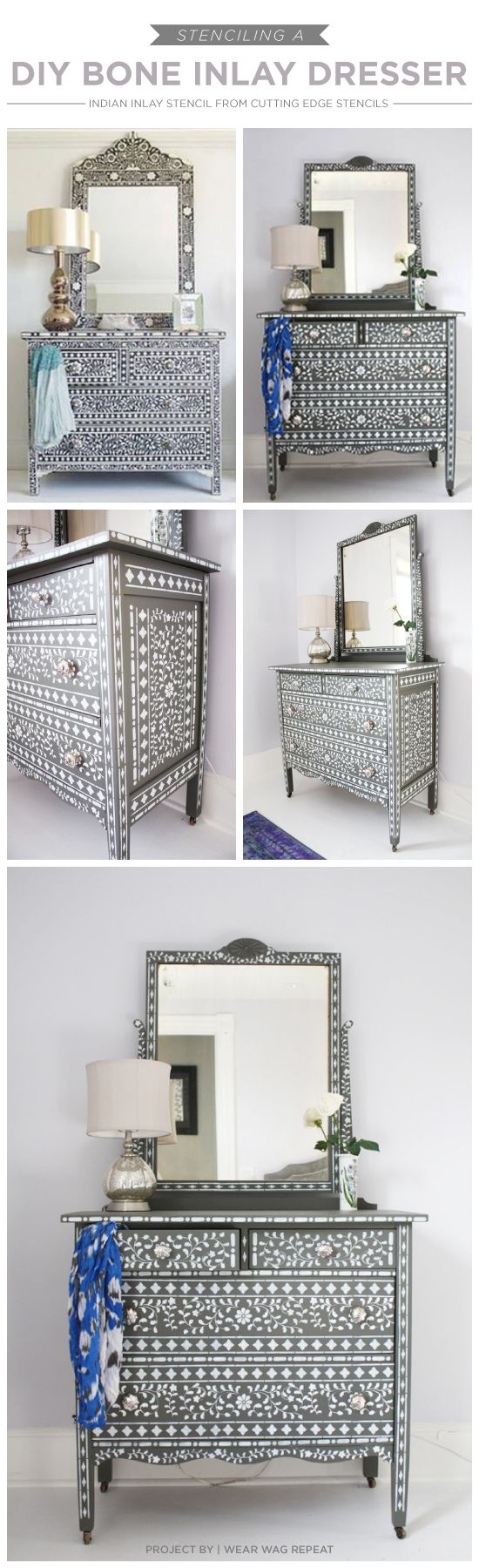 25 best ideas about stencil dresser on pinterest the indians indian inspired bedroom and. Black Bedroom Furniture Sets. Home Design Ideas