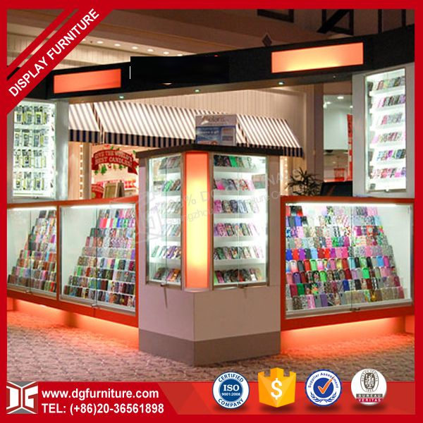 Source Fashion beautiful mobile cell phone accessories kiosk on m.alibaba.com