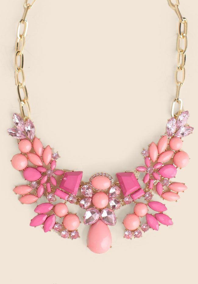 25+ best ideas about Pink statement necklaces on Pinterest | Fall ...