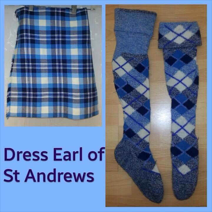 Dress Earl of St. Andrews - size 8-11yrs