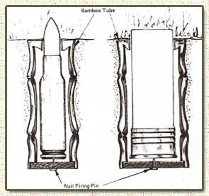 Ammunition cartridge booby trap