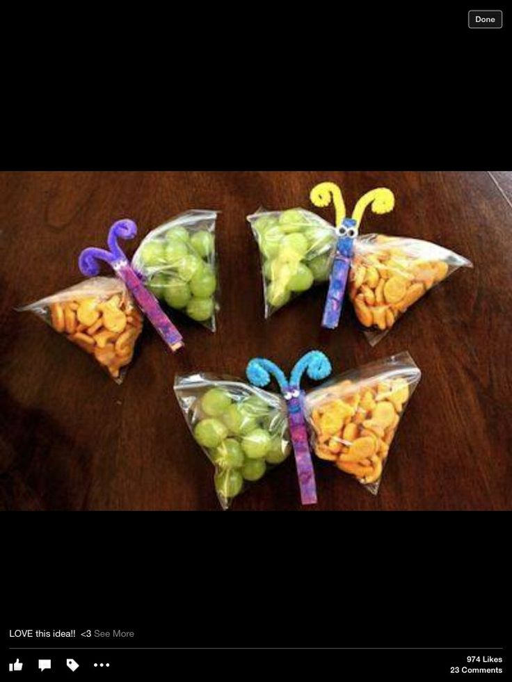 Butterfly birthday favors