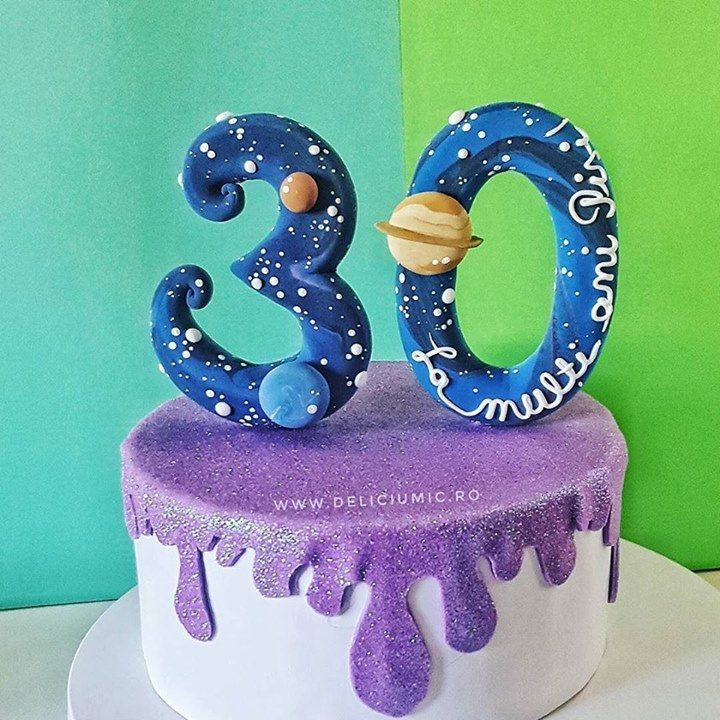 When you're turning 30...the whole Universe should hear about it  . #DeliciumMic #handmadecaketoppers #30 #30yearsold #30years #mybirthday #happybirthday #happybirthdaytome #30caketopper #cake #galaxy #galaxycake #galaxycakes #planet #planets #saturn #mars #neptune #customcaketopper #customcaketopper #handmadecaketoppers #handmade #ilovehandmade #instacake #figurinedetort #figurinehandmade #figurine . @anatudoraa @cukibags - http://ift.tt/1ipRjKg -