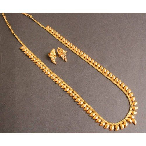 BEAUTIFUL GOLD TONE MANGO HAAR SET - Online Shopping for Necklaces by Dreamjwell