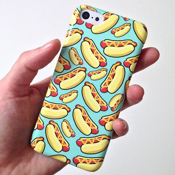 HOT DOG iPhone Case Hot Dog iPhone 5 case par TheSmallPrintCases