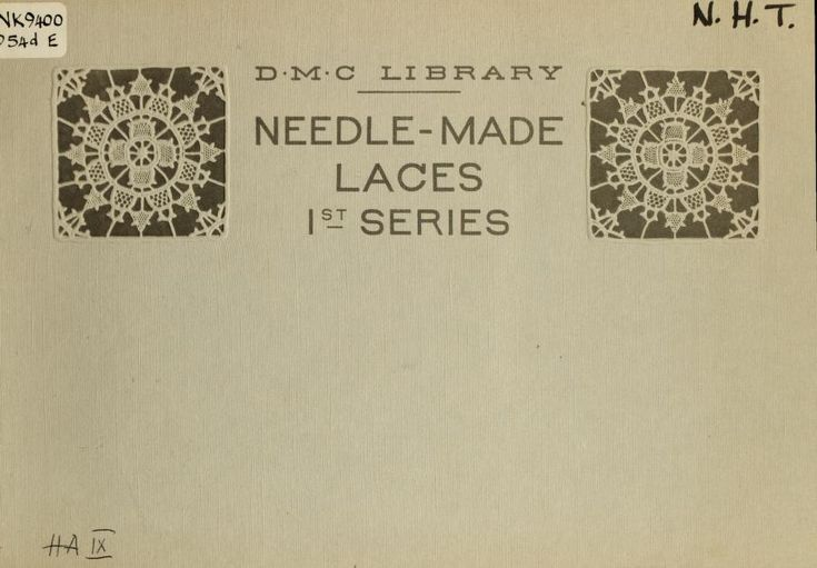 Needle-made laces
