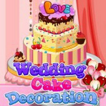 This day everything must be perfect! Especially wedding cake! You have to decorate it as best you can!