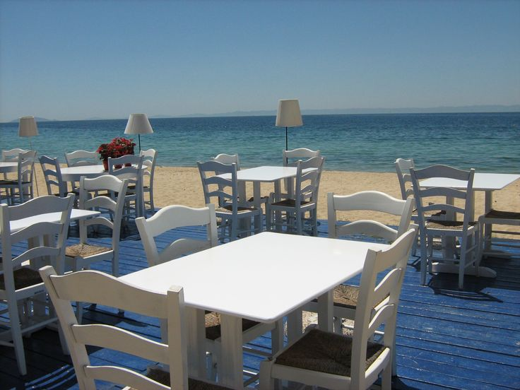 Day 7 and we're remembering a gem of a place - the village of Nikiti, Halkidiki mainland Greece - great beach front resort which falls away from the old village - plenty of great beaches in the area too ...