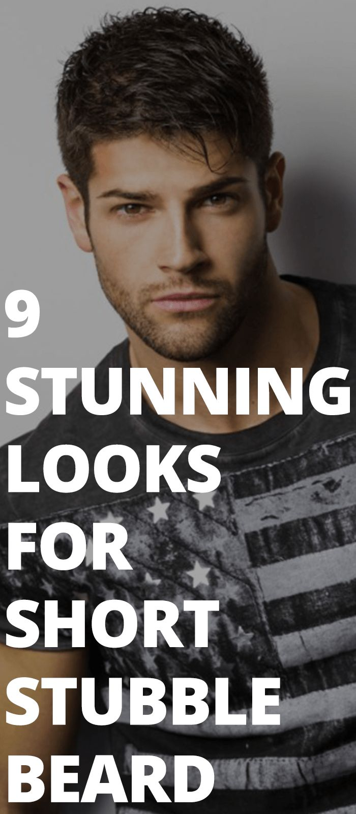 14 Perfect Looks For The Most Popular Beard Style – Short Stubble Beard Style