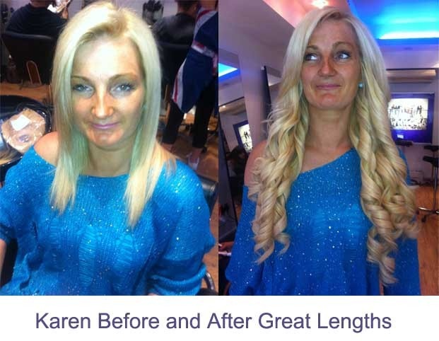 23 best great lengths hair extensions images on pinterest great great lengths hair extensions before and after pmusecretfo Images