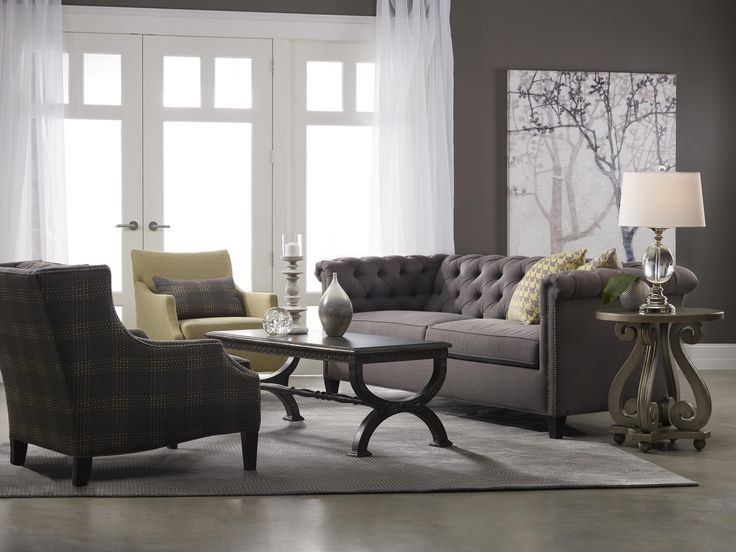 23 best chesterfield sofa living room images on pinterest - Chesterfield sofa living room ideas ...