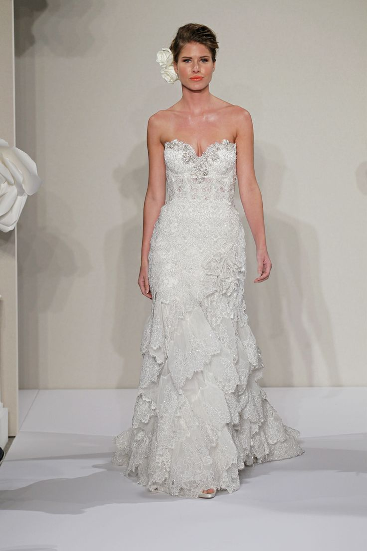 42 best pnina tornai images on pinterest wedding frocks for Used pnina tornai wedding dress