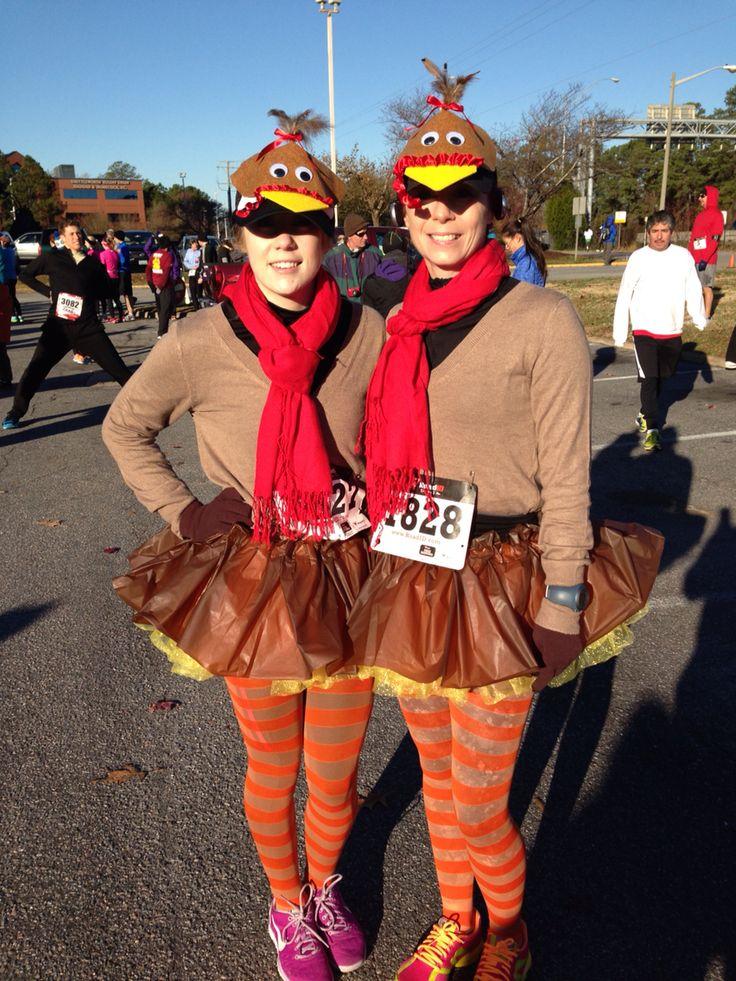 Running costume for the Turkey Trot 10K in Virginia Beach, VA