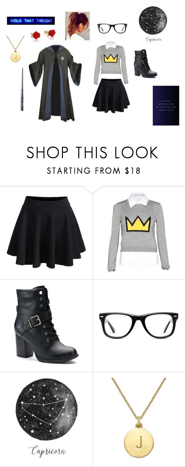 """""""Jackie Campbell <3"""" by laurenisnotinteresting ❤ liked on Polyvore featuring WithChic, Alice + Olivia, Apt. 9, Muse, Kate Spade and Disney"""