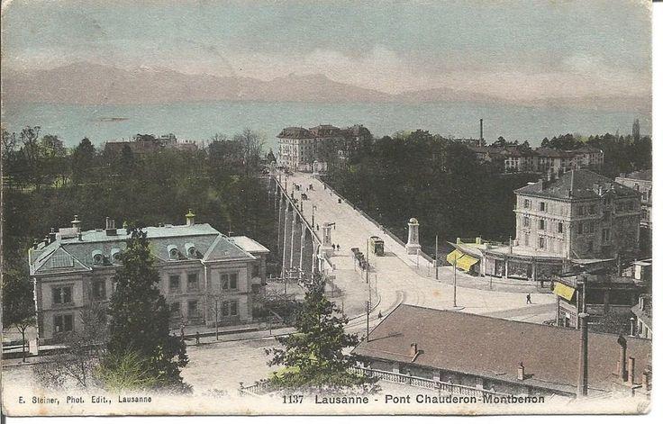 Rétrospective: Vaud et son visage d'antan - Vaud & Régions - Le pont Chauderon, 1908