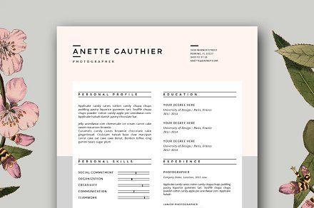 Resume Design | CV Template for Word
