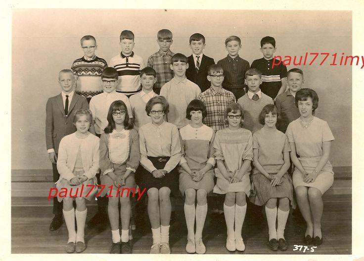 #2 1960S шторм озеро, Айова школа класс фото... вы в этом классе??? | eBay