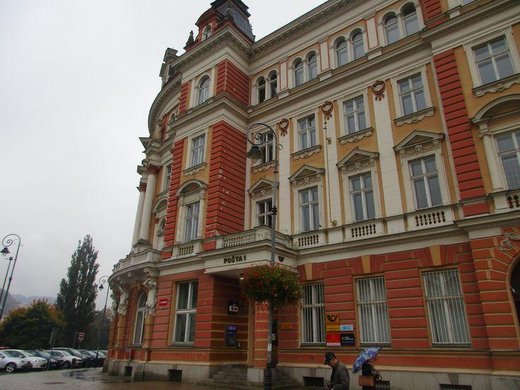 Pošta - Karlovy Vary - Česko