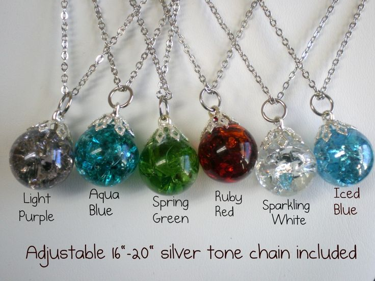 I love this idea as a gift for a little girls dress up birthday party.  You can create your own marble pendents by cooking the marbles in a hot oven.