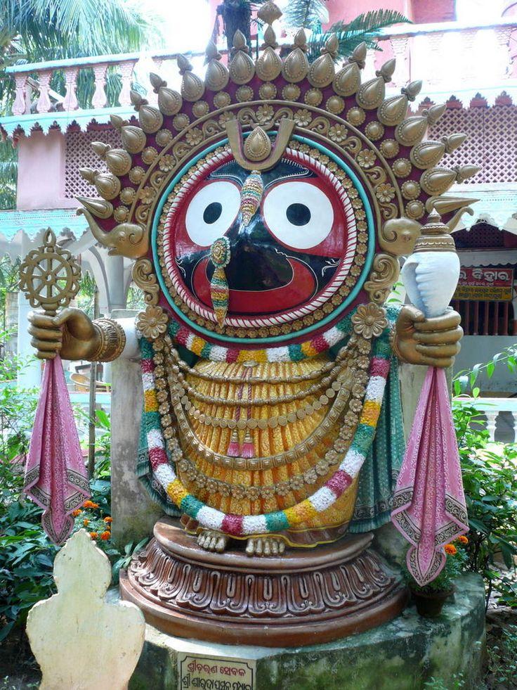 Lord Jagannath Odisha At A Glance Pinterest