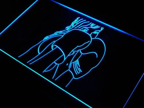 Kick Boxing Fitness Club Gym Neon Light Sign