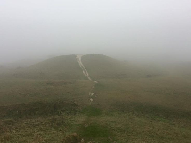 Devils Humps in the Mist