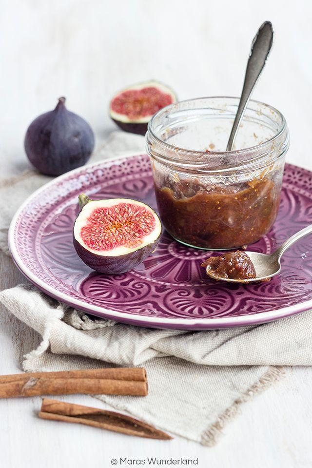 Fig Almond Jam // Feigen-Mandel-Marmelade • from Maras Wunderland