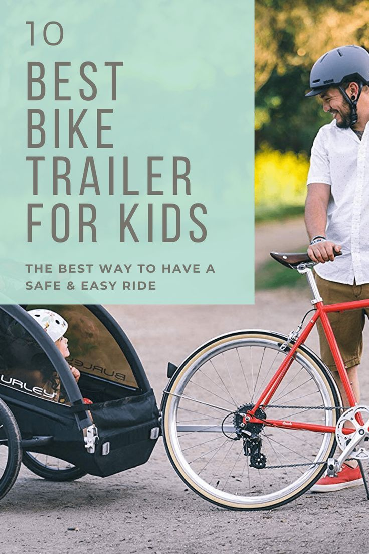 The Best Bike Trailer For Kids For An Easy Safe Ride In 2020