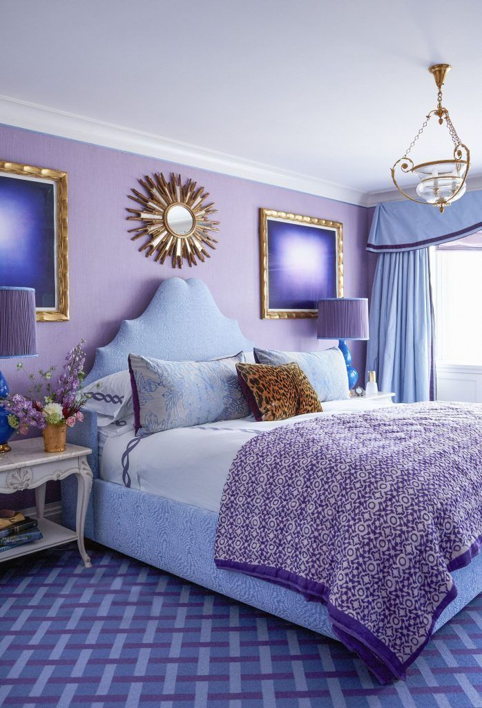 35 The 5 Minute Rule For Purple Accent Wall Bedroom
