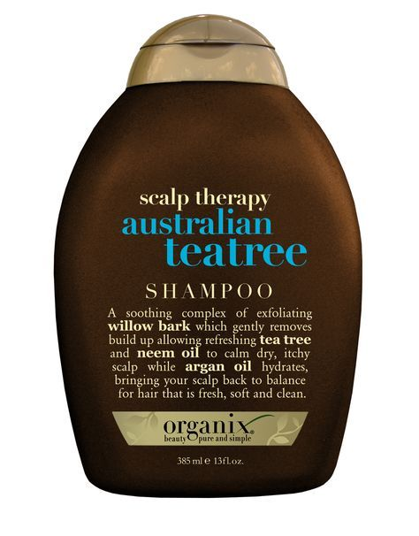 This Organix shampoo is like heaven for an itchy scalp.