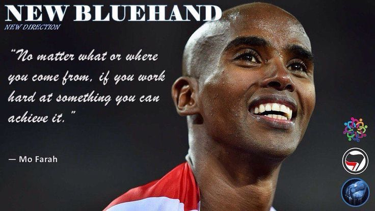 Diversity a core element of the GB Olympic team success #NewBluehand #Bluehand #Rio2016 #TeamGB #Olympics #MoFarah