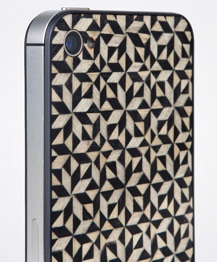 Taracea wood backs for IPhone - KALEIDOSCOPE