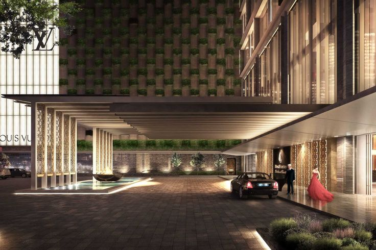 Four Seasons Tianjin Architects Designers Watg