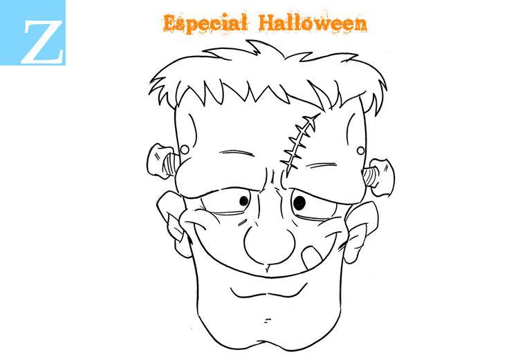 #Halloween   Pinta  ,colorea y pásalo de miedo con tu familia en #Clínica #Zubident (#LaZubia), descarga las imágenes aquí:  http://goo.gl/5QN6Uk