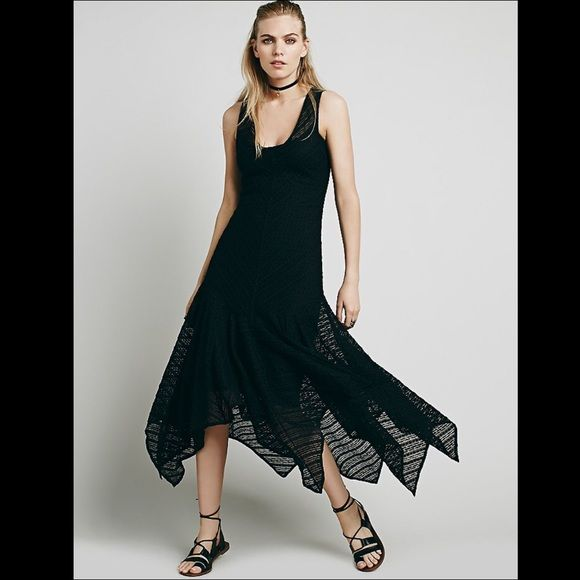 ❗️SHOP CLOSING SALE❗️FREE PEOPLE dress lace slip Sheer doted mesh maxi slip featuring a plunging V-Neckline. Drop waist with a flutter skirt and a high low hem. Scalloped trim. 122K755  RETAIL: $98 SIZES LISTED: BLACK: XS, S   ❤I have over 300 new with tag Free People items for sale! I love to offer bundle discounts!   ❤No trades. love the item but not the price? Submit an offer! Free People Dresses Maxi