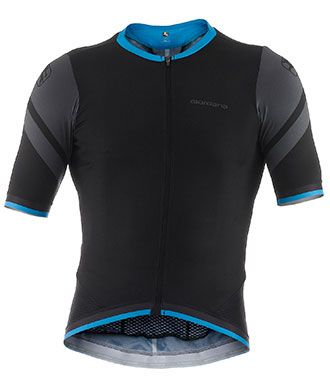 Giordana EXO Short Sleeve Jersey (Black)