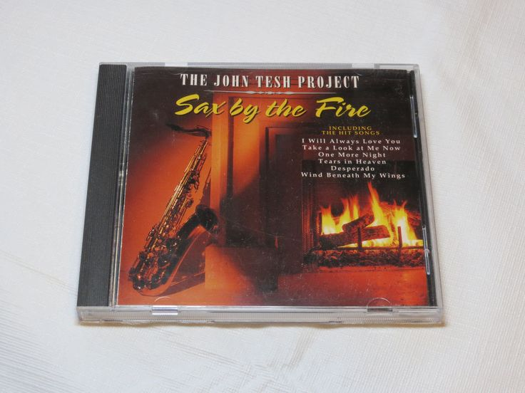 The John Tesh Project Sax by the Fire 3-4573-2 GTS Records End of the Innocence